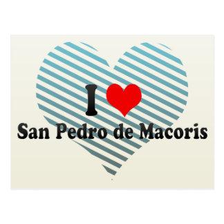 I Love San Pedro Postcard