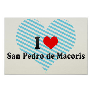I Love San Pedro Poster