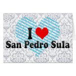 I Love San Pedro Sula, Honduras Card