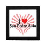 I Love San Pedro Sula, Honduras Keepsake Box