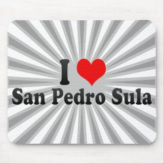 I Love San Pedro Sula Honduras Mouse Pads