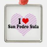 I Love San Pedro Sula, Honduras Ornaments