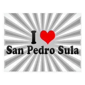 I Love San Pedro Sula, Honduras Postcard