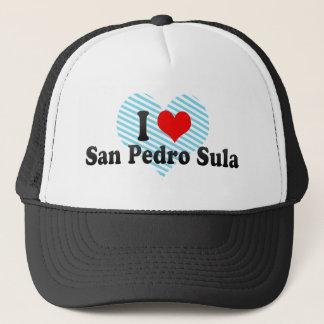 I Love San Pedro Sula, Honduras Trucker Hat