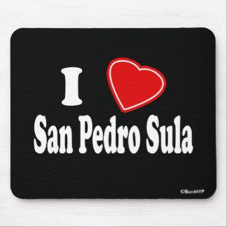 I Love San Pedro Sula Mouse Pad