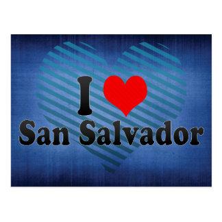 I Love San Salvador, El Salvador Postcard