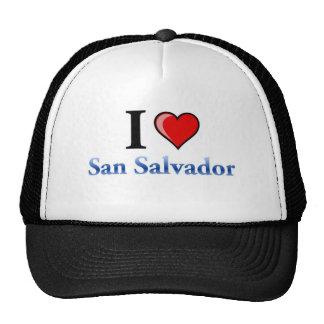 I Love San Salvador Trucker Hat