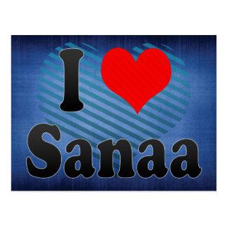 I Love Sanaa, Yemen Postcard