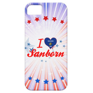 I Love Sanborn, Wisconsin iPhone 5 Covers