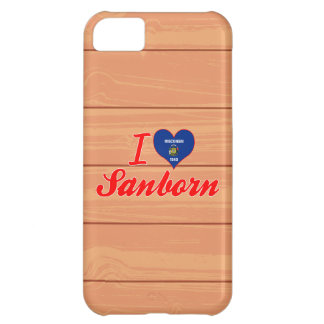 I Love Sanborn, Wisconsin iPhone 5C Cover