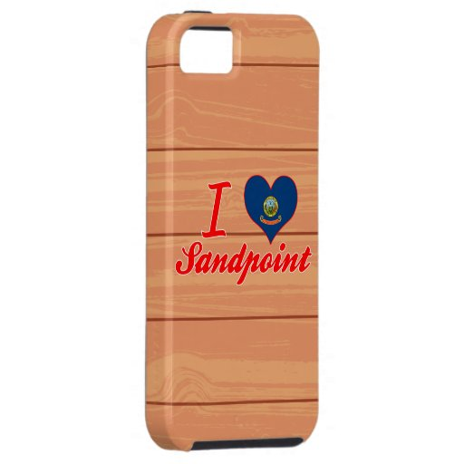 I Love Sandpoint, Idaho Cover For iPhone 5/5S