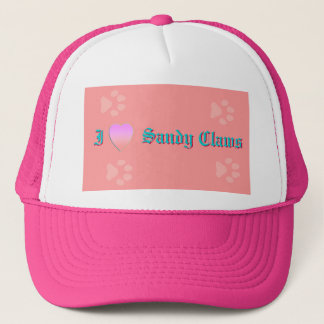 I LOVE Sandy Claws Trucker Hat