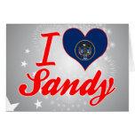 I Love Sandy, Utah Cards