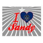 I Love Sandy, Utah Postcard