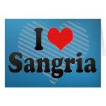 I Love Sangria Cards