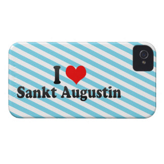I Love Sankt Augustin, Germany iPhone 4 Case-Mate Cases