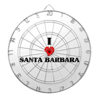 I love Santa Barbara Dartboards
