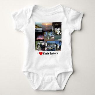 i love santa barbara.png tee shirt