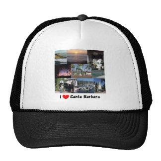 i love santa barbara.png trucker hat