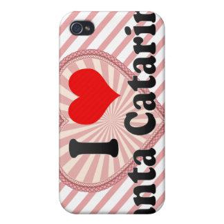 I Love Santa Catarina Mexico iPhone 4 Cases