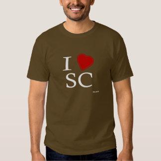 I Love Santa Clara Tee Shirt