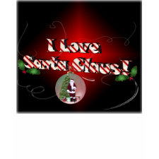 I Love Santa Claus Tee shirt