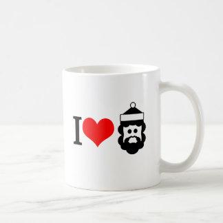 I love santa clause coffee mug