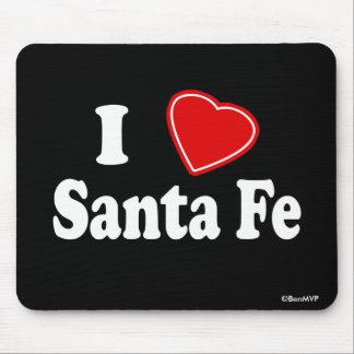 I Love Santa Fe Mouse Pad