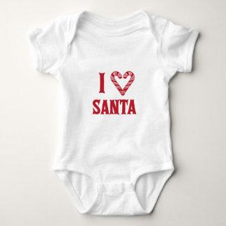 I Love Santa Infant Creeper