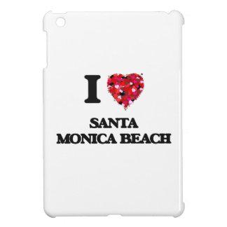 I love Santa Monica Beach Florida iPad Mini Case