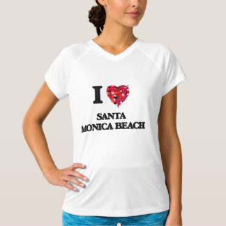 I love Santa Monica Beach Florida Shirt