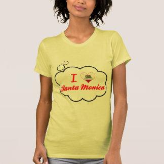 I Love Santa Monica, California Tee Shirt