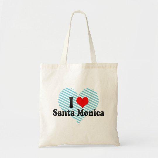 I Love Santa Monica, United States Tote Bag