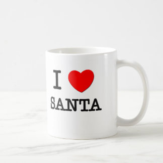 I Love Santa Classic White Coffee Mug