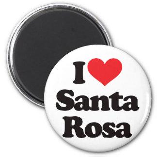 I Love Santa Rosa Magnet