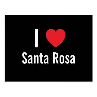 I love Santa Rosa Postcard