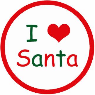 I Love Santa Statuette