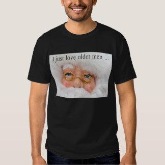 I Love Santa Ugly Christmas Shirt