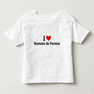 I Love Santana do Paraiso, Brazil Toddler T-shirt