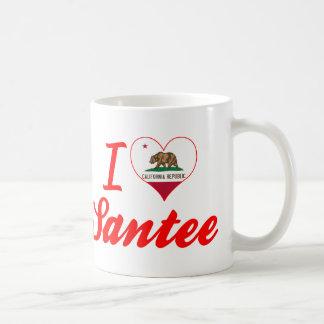 I Love Santee, California Coffee Mugs