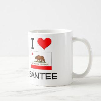 I Love SANTEE California Coffee Mug