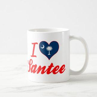 I Love Santee, South Carolina Mug
