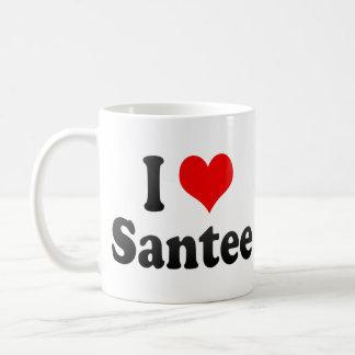 I Love Santee, United States Mug