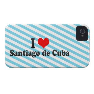I Love Santiago de Cuba, Cuba iPhone 4 Case-Mate Case