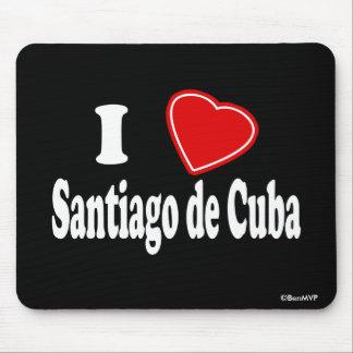 I Love Santiago de Cuba Mouse Pad