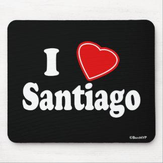 I Love Santiago Mouse Pad