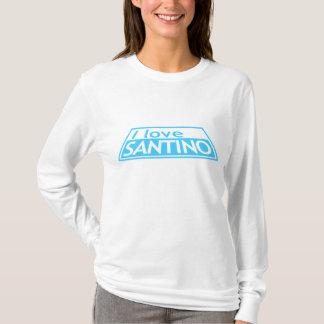 I LOVE SANTINO Project Runway Tim Gunn Heidi Klum T-Shirt