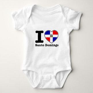 I love Santo Domingo Baby Bodysuit