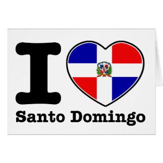 I love Santo Domingo Card