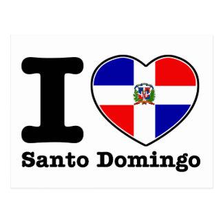 I love Santo Domingo Postcard